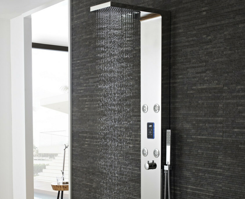 genie shower panel