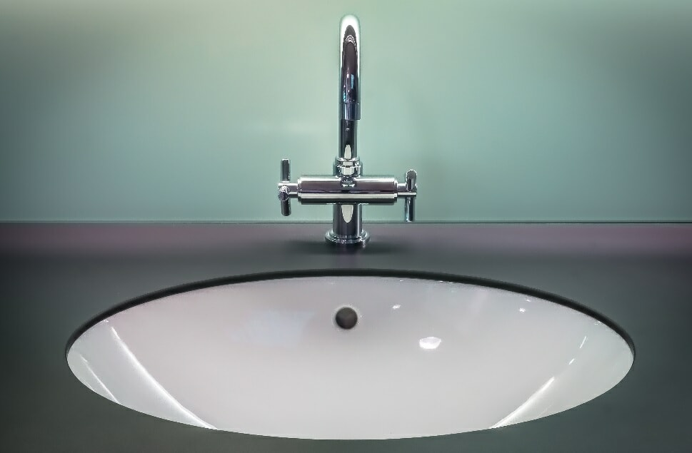 modern sink and faucet