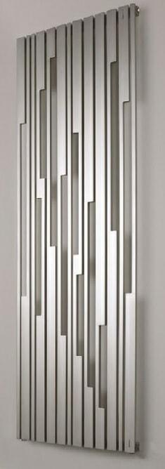 art deco-inspired hot water radiator