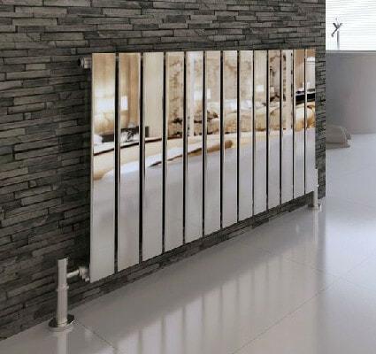 reflective chrome radiator