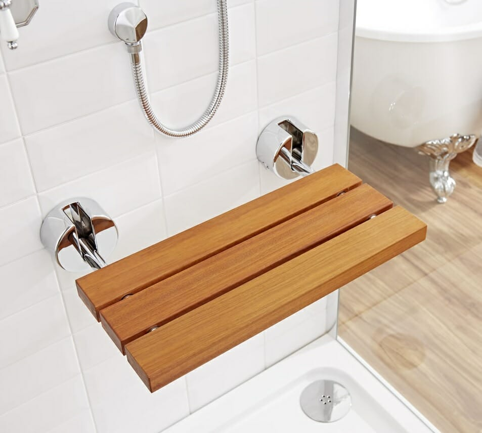 How The Addition Of A Shower Seat Can Benefit Your Bathroom