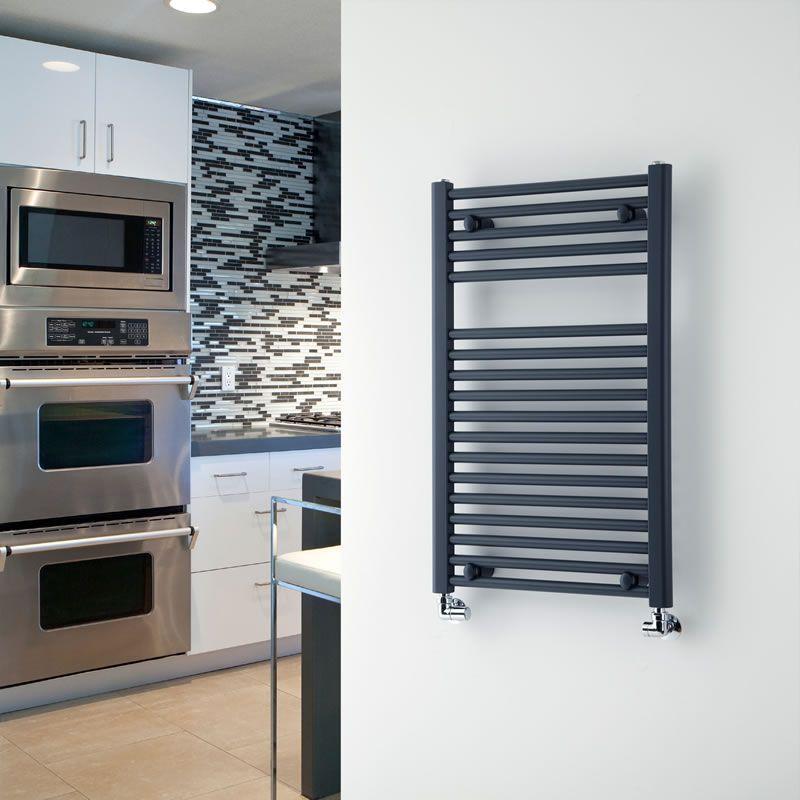 loa hydronic heated towel rack