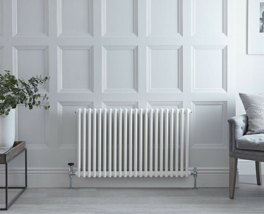 white horizontal traditional rad