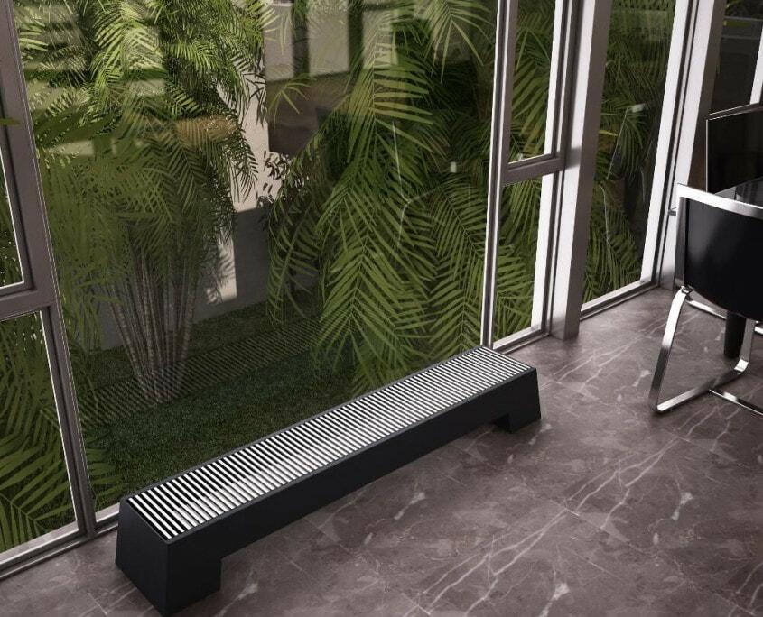 adva low level radiator