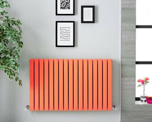 orange sloane radiator