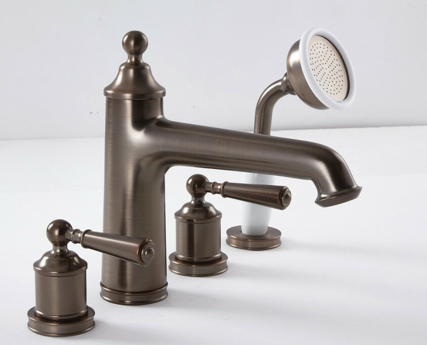colworth bronze faucet & shower