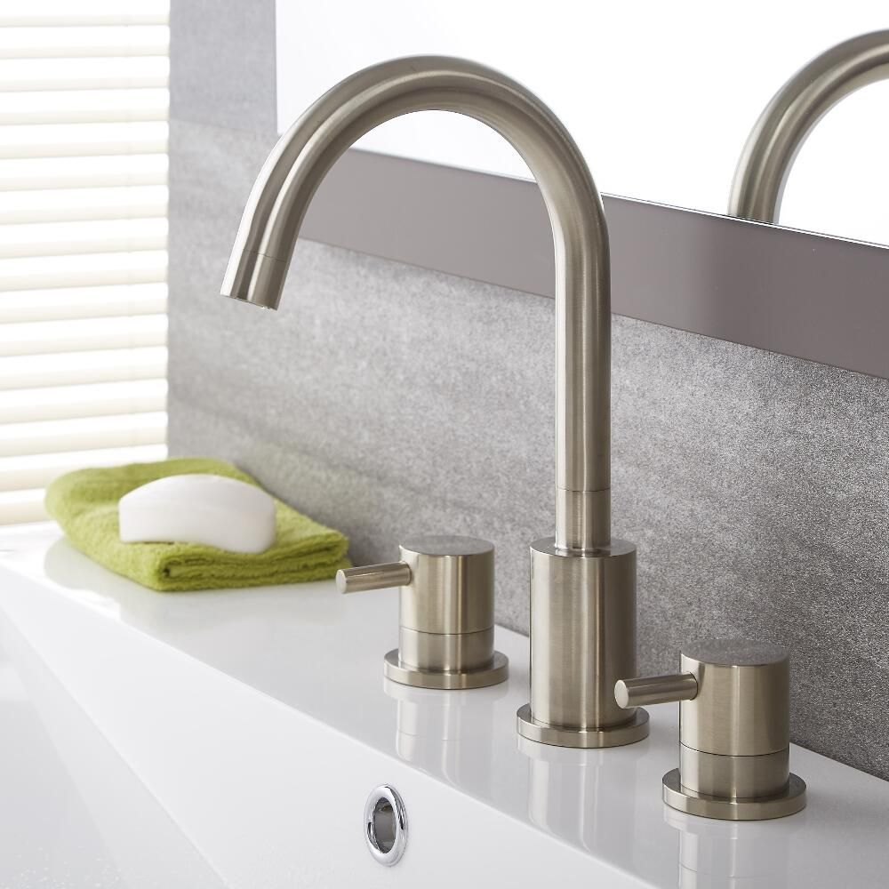 quest widespread bathroom faucet