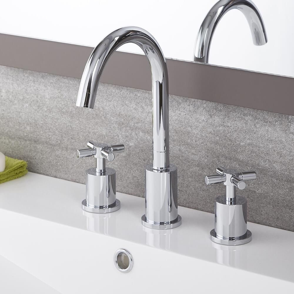 tec traditional widespread faucet