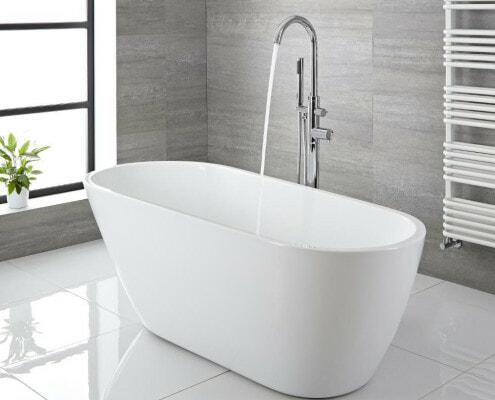 freestanding tub no feet