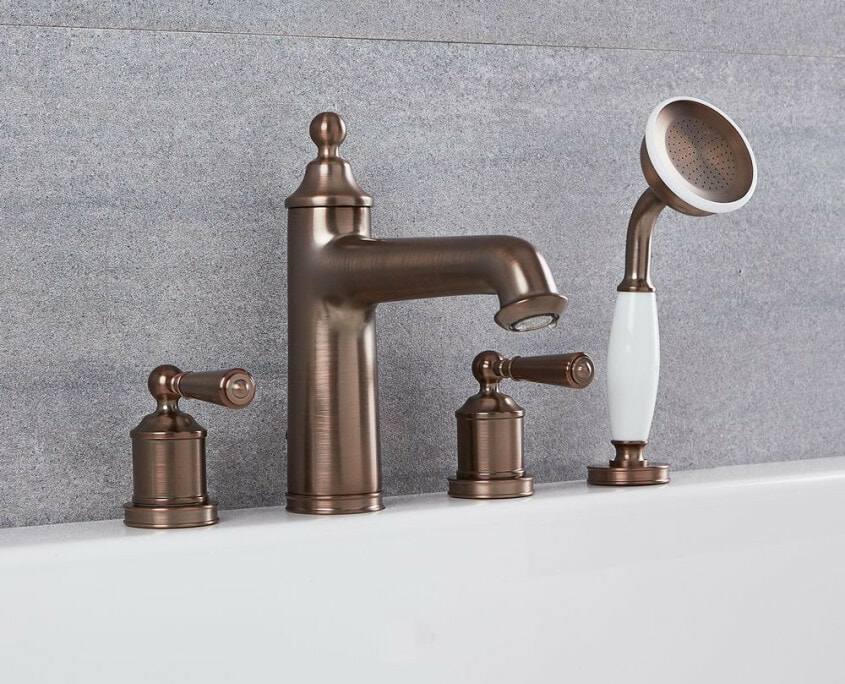 colworth traditional roman tub faucet set