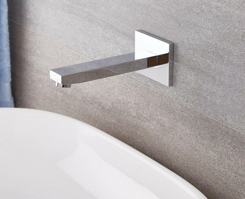 kubix wall mounted tub spout