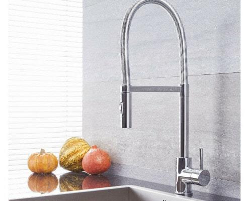 quest chrome single hole faucet
