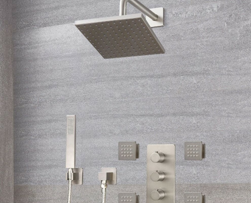 arcadia thermostatic shower system