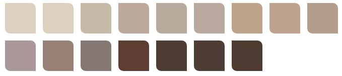 neutral and mocha colors