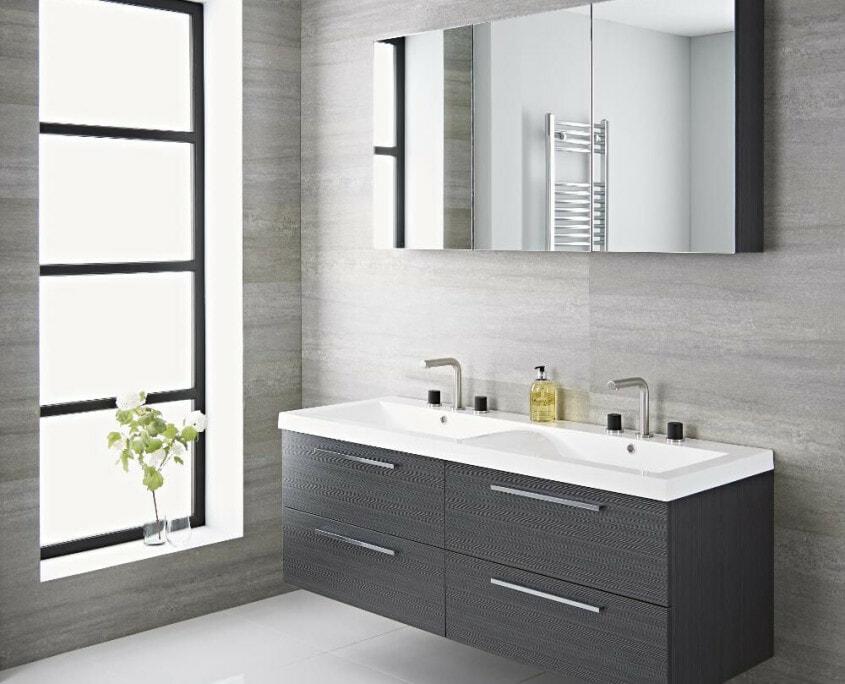 langley 55 inch gray double vanity