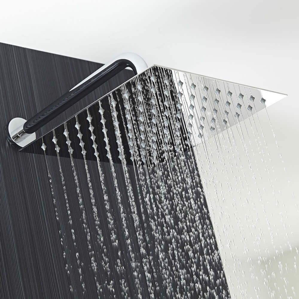 modern square shower head