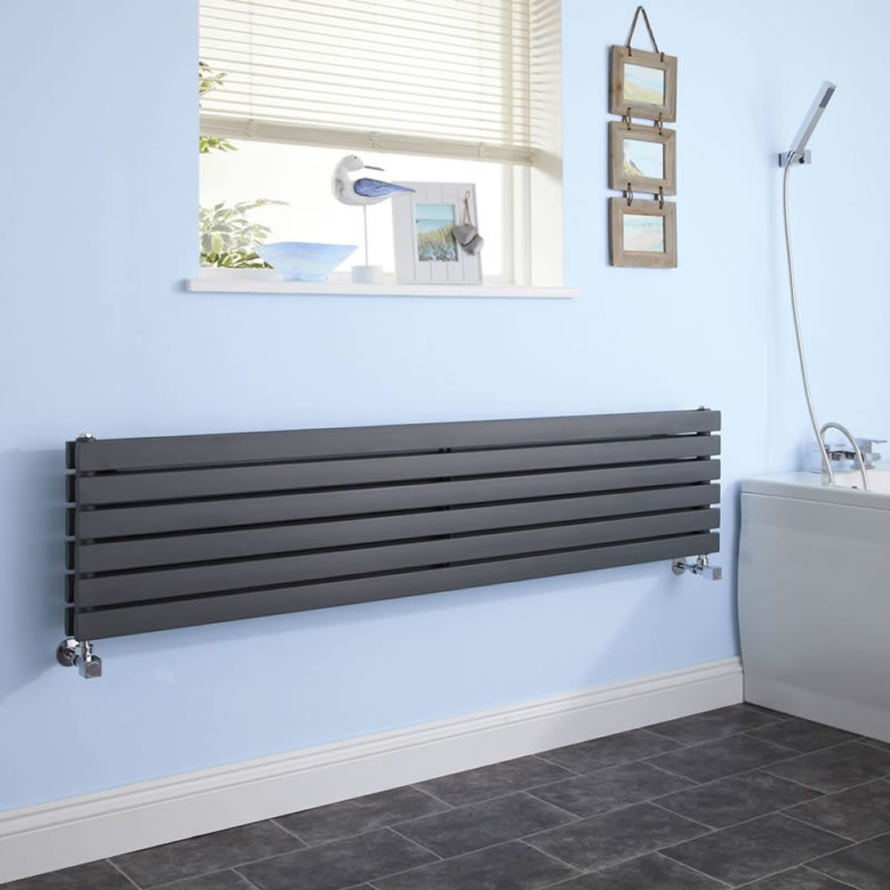 sloane anthracite horizontal radiator