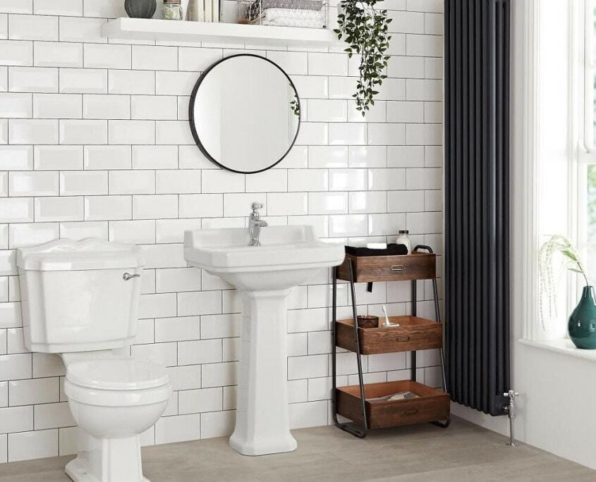 carlton traditional pedestal sink